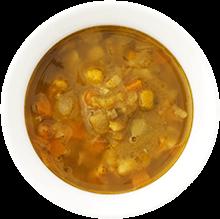 野菜ごろごろカレースープ 盛り付け例