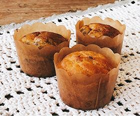にんじんともずくのおかず蒸しケーキ レシピ写真