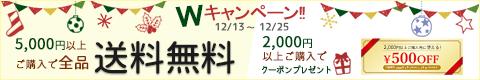 冬のWキャンペーン!12/25まで