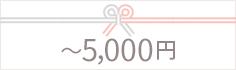 5000円以内の出産祝い