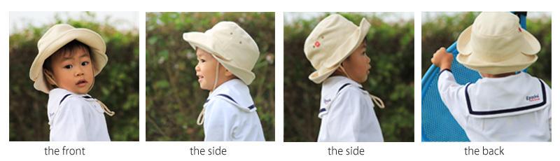 3WAY UVカット帽子